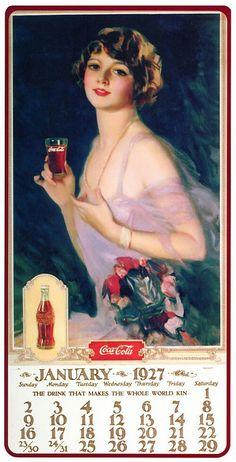Coca Cola Poster, Coca Cola Ad, Always Coca Cola, Coca Cola Vintage, Vintage Ads, Vintage Images, Vintage Signs, Coke Ad, Creation Photo
