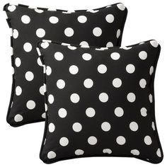 I pinned this Cecilia Pillow in Black (Set of 2) from the DecorChick! event at Joss and Main!
