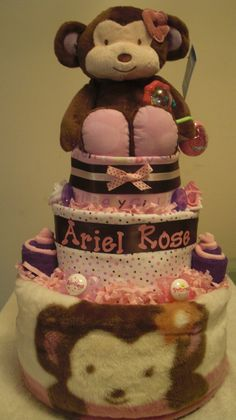 "cocalo+diaper+cake | Tier Cocalo Jacana ""Ariel Rose"" Diaper Cake - a photo on Flickriver"
