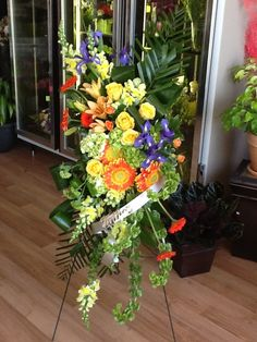 Brantford Blooms Florist offers unique arrangements for any occasion. With same-day day delivery, your flowers will surely brighten someone's day. Blooms Florist, Funeral, Flower Arrangements, Congratulations, Birthdays, Tropical, Flowers, Unique, Plants