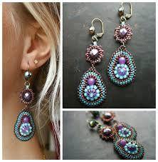 Image result for beaded earrings