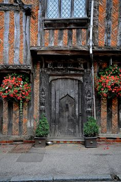 Timber framed building, Lavenham, Suffolk, UK