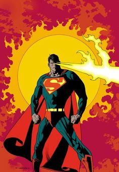 Superman by Kevin Nowlan - love this!