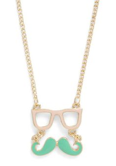 Wise Disguise Necklace, #ModCloth Chryssie or Mychelle