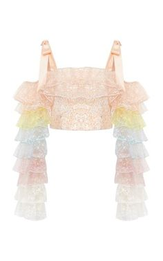 Rodarte Off-The-Shoulder Tulle Bustier Top Click Pic for the Hottest Lingerie On… - Fashion Style Set Fashion, Party Fashion, Look Fashion, Korean Fashion, Fashion Design, Fashion Pics, Kpop Fashion Outfits, Stage Outfits, Fashion Dresses