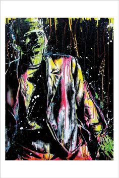 Frankenstein's Monster  12 x 18 High Quality by PointBlankDesign, $20.00
