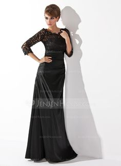 Mother+of+the+Bride+Dresses+-+$154.59+-+A-Line/Princess+Scoop+Neck+Floor-Length+Charmeuse+Lace+Mother+of+the+Bride+Dress+With+Ruffle+Beading+(008006037)+http://jenjenhouse.com/A-Line-Princess-Scoop-Neck-Floor-Length-Charmeuse-Lace-Mother-Of-The-Bride-Dress-With-Ruffle-Beading-008006037-g6037