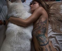 tattoos and pup cuddles // what more do you need