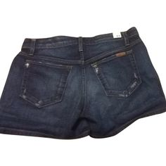 Pre-owned JOE'S Jeans Denim Shorts ($59) ❤ liked on Polyvore