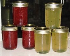Strawberry Daiquiri Jam and Margarita Jelly...two recipes....one page :)