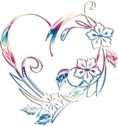 July 2018 with initial 1 Tattoo, Mom Tattoos, Tattoo Drawings, Body Art Tattoos, Tattoos For Women, Coloring Books, Coloring Pages, Heart Tattoo Designs, Heart Wallpaper
