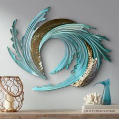 Modern and abstract, this gorgeous metal wall art sculpture shows the tumultuous beauty of sea and sand tumbling together with the tides. wide x high x deep. Hand-made metal wall art. Style # at Lamps Plus. Abstract Metal Wall Art, Metal Tree Wall Art, Metal Wall Decor, Painting Metal, Abstract Faces, Metal Wall Sculpture, Wall Sculptures, Sculpture Art, Abstract Sculpture