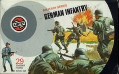 The first Airfix box I bought. 50p from Cunninghams in Brora.