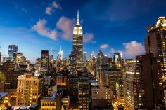 View of Empire State Bld 230 Fifth Rooftop Bar NYC