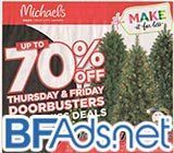 We just posted the 12-page Michaels Black Friday ad scan!