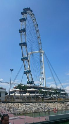 The Singapore Flyer in Singapore