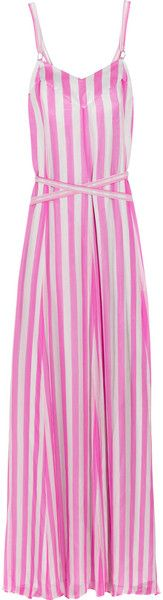 TEMPERLEY LONDON   Jester Striped Silk Maxi Dress