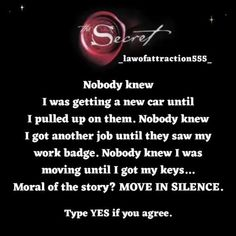 Move In Silence, Stink Bugs, Work Badge, Morning Affirmations, Daily Motivation, Spiritual Awakening, Be Yourself Quotes, Law Of Attraction, Words Quotes