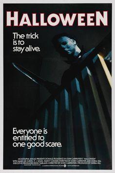 Halloween (John Carpenter 1978) #films #horror #posters