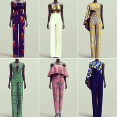 """Gefällt 394 Mal, 9 Kommentare - StylesAfrik.co.uk (@stylesafrik.co.uk) auf Instagram: """"YES Spring is officially here lets welcome it with our selection of jumpsuits. Visit:…"""""""