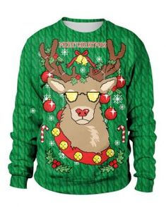 Outerwear And Sweaters Collection - Page 7 of 24 - Power Day Sale Winter Blouses, Winter T Shirts, Winter Tops, Casual Dress Outfits, Cute Fall Outfits, Fall Collection, Costume, Look Chic, Ugly Christmas Sweater