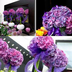 hydrangea wedding flower arrangements