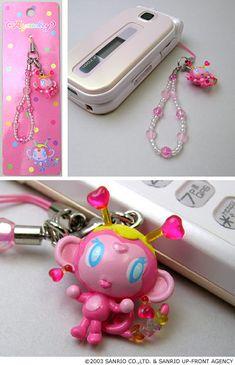 Cute Little Things, Girly Things, Retro Phone, Flip Phones, Kawaii Accessories, Old Phone, Decoden, Gyaru, Sanrio