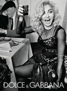 Madonna in Dolce and Gabbana advert