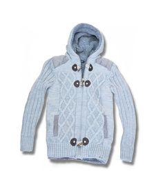 Μοντέρνα ανδρική ζακέτα πλεκτή με κουκούλα σε χρώμα λευκό του πάγου, με μάλλινο γκρι στο εσωτερικό και ιδιαίτερα εντυπωσιακή πλέξη . Η σύνθεση της είναι 50% μάλλινο και 50% ακριλικό. Η τελευταία λέξη στη μόδα οι μάλλινες ζακέτες, συνδυάσ... Mens Fashion, Hoodies, Sweaters, Moda Masculina, Man Fashion, Sweatshirts, Men's Fashion, Male Fashion, Sweater
