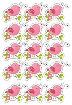 Pajaritos Moldes Para Baby Shower, Butterfly Clip Art, Diy And Crafts, Paper Crafts, Sock Snowman, Bird Party, Printable Paper, Free Printables, Scrapbook