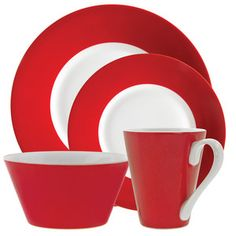 Soho Red Dinnerware Set now featured on Fab.