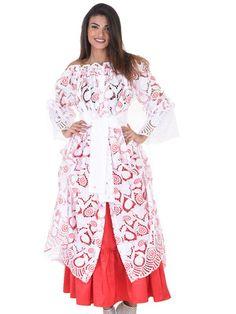 Gamme Broderie FEMME créole, antillais Vénitia en vente sur la boutique Dodyshop spécialisée dans la vente de vêtements traditionnels créoles. Une collection unique inspirée des traditions