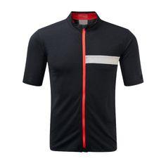 ashmei cycle jersey black