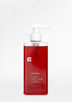 THIS SMELLS AMAZING!!! ;)  Liquid Hand Soap by Modere cleans and softens hands, leaving them with a luscious hint of mandarin-grapefruit.