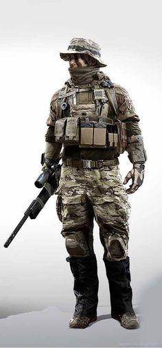 Battlefield 4 Scout/Sniper