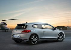 The interior of the 2015 Volkswagen Scirocco is all sports - sports leather steering wheel, sport seats and a lot of fresh new colors and ma...