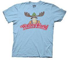 National-Lampoons-Vacation-Wally-World-Adult-T-Shirt-Blue-Medium