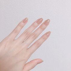 Korean Nail Art, Korean Nails, Minimalist Nails, Nail Swag, Nail Manicure, Toe Nails, Gorgeous Nails, Pretty Nails, Asian Nails