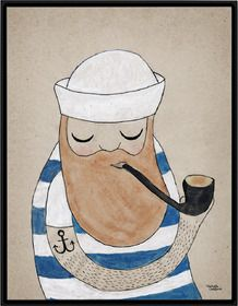 Poster - SAILOR from goodobject