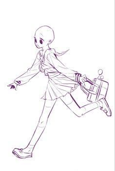Art Drawings Sketches Simple, Cute Drawings, Drawing Templates, Drawing Expressions, Art Inspiration Drawing, Art Base, Image Manga, Drawing Reference Poses, Drawing Base