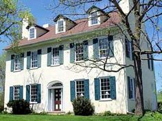 Pennsylvania home from1835 called the Oyer House... it has 7 fireplaces!