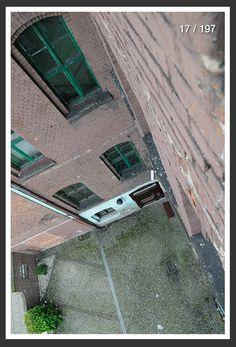 ŚLĄSKIE PODWÓRKA: podwórko za starą szkołą w Bytomiu #backyard #slkamienice #townhouse #silesia #śląsk