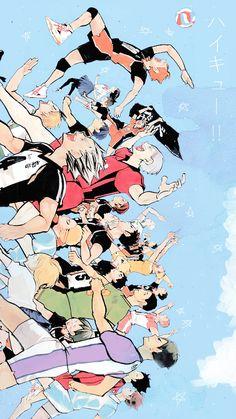 Neko Ushijima ( Kuroo ff) – Kapitel Wallpaper Animes, Cute Anime Wallpaper, Animes Wallpapers, Cute Wallpapers, Manga Anime, Comic Anime, Anime Art, Haikyuu Funny, Haikyuu Fanart