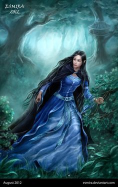 use.well.the.days (luthien is running away from doriath by ~esmira)