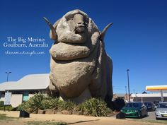 The Big Merino, and our Australia's Big Things Project