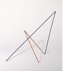 Raumplastik Weiß-Blau-Rot, Norbert Kricke 1954 - Daimler Art Collection Daimler Art Collection