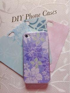 Cute Craftylicious: DIY Phone Cases Tutorial