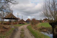 boerderij Damme tussen Ruurlo en Borculo, hooibergen en schaapskooi