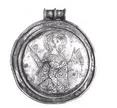 Finnish silver pendant / Kaukola