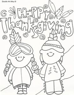 Happy Thanksgiving 2 Coloring Page Pages Are A Great Way To End Sunday School Lesson They Can Serve As Take Home Activity